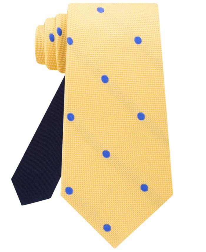 Tommy Hilfiger Men's Derby Oxford Dot Silk Tie & Reviews - Ties & Pocket Squares - Men - Macy's