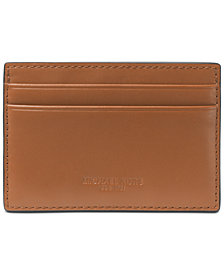 Michael Kors Men's Odin London Leather Card Case