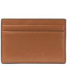 Michael Kors Men's Odin London Leather Card Case