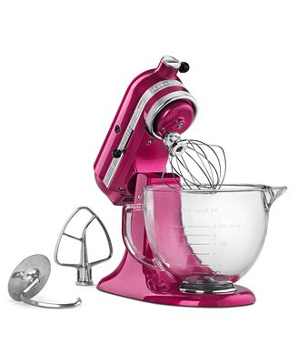 cook for the cure! kitchenaid ksm155 5 qt. stand mixer - electrics