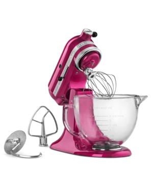 KitchenAid KSM155 Cook for the Cure 5 Qt. Stand Mixer