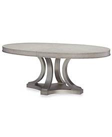 Rachael Ray Cinema Round Expandable Dining Table
