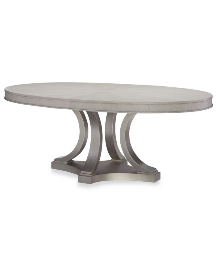 Furniture Rachael Ray Cinema Oval Expandable Dining Table & Reviews - Furniture - Macy's