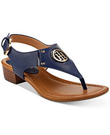 Tommy Hilfiger Kissi Block-Heel Sandals