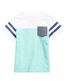 First Impressions Pocket Cotton T-Shirt, Baby Boys, Created for Macy's