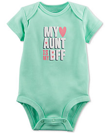 Carter's Graphic-Print Bodysuit, Baby Girls