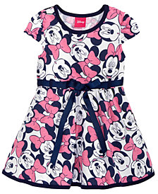 Disney's® Minnie Mouse Printed Pullover Dress, Baby Girls