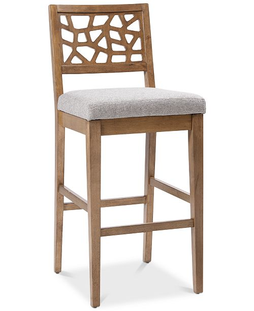 JLA Home Crackle Counter Stool, Quick Ship