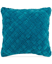 "Vera Bradley Woven Velvet 16"" Square Decorative Pillow"
