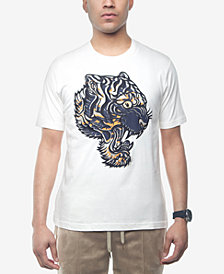 Sean John Men's Embroidered Graphic-Print T-Shirt, Created for Macy's
