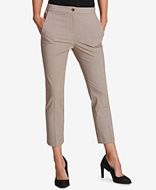 DKNY Fixed Waist Skinny Ankle Pants