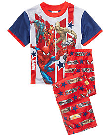 Marvel's® 2-Pc. Hero Mania Pajama Set, Little Boys & Big Boys