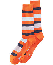 Bar III Men's Chunky Stripe Socks, Created for Macy's