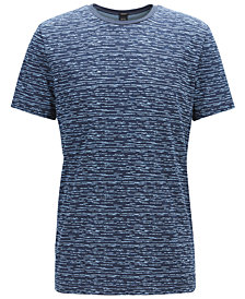 BOSS Men's Heathered Cotton T-Shirt