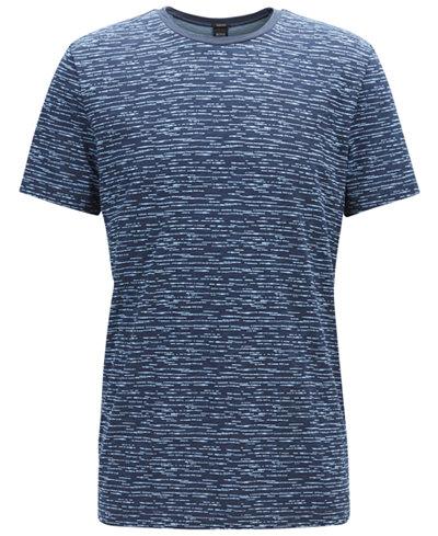 BOSS Men's Heathered Cotton T-Shirt