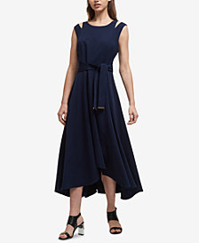 DKNY High-Low A-Line Dress, Created for Macy's