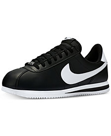 Nike Men's Cortez Basic Leather Casual Sneakers from Finish Line