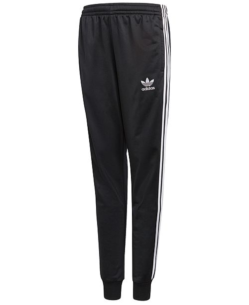 1255280c9 adidas adicolor Tricot Jogger Pants, Big Boys & Reviews - Leggings ...