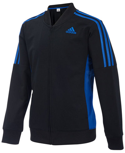 adidas Athletic Linear Jacket, Little Boys