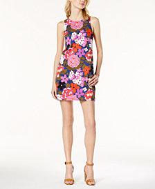 Trina Turk Cosme Floral-Print Shift Dress