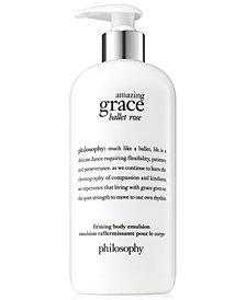 philosophy Amazing Grace Ballet Rose Firming Body Emulsion, 16-oz.