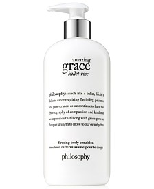 philosophy Amazing Grace Ballet Rose Firming Body Emulsion, 16-oz.