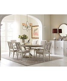 Rachael Ray Cinema Round Expandable Dining Furniture Collection