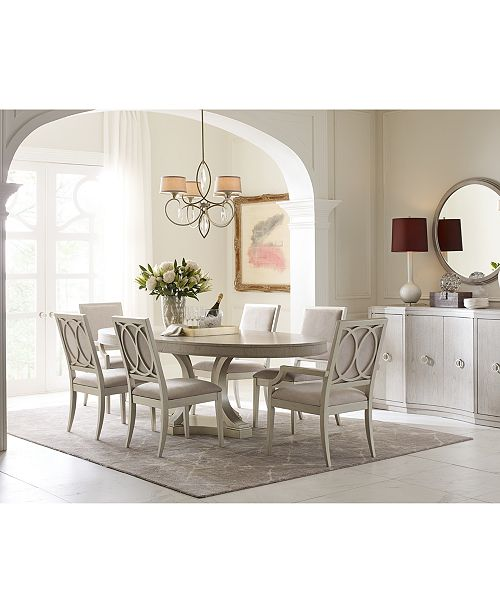 Furniture Rachael Ray Cinema Round Expandable Dining Furniture