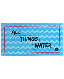 "Body Glove All Things Water Cotton 36"" x 70"" Graphic-Print Beach Towel"