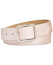 I.N.C. Casual Solid Belt, Created for Macy's