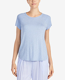 DKNY Solid Pajama Top