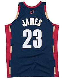 Men's LeBron James Cleveland Cavaliers Hardwood Classic Swingman Jersey