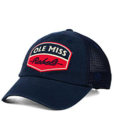 Top of the World Ole Miss Rebels Society Adjustable Cap