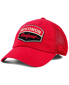 Top of the World Wisconsin Badgers Society Adjustable Cap