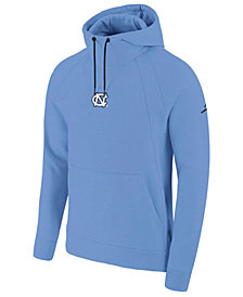 Jordan Men's North Carolina Tar Heels Wings Fleece Player Hoodie