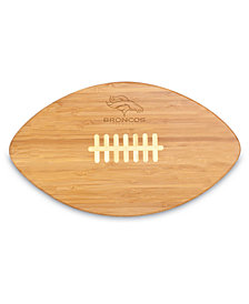 Picnic Time Denver Broncos Ball Shaped Cutting Board