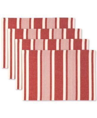 Mara Raspberry 4-Pc. Placemat Set