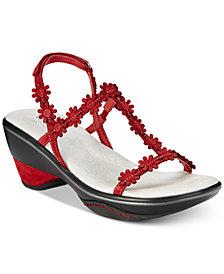 Jambu Cybill Floral Strap Sandals
