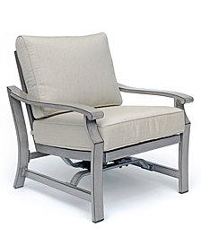Tara Aluminum Outdoor Rocker Chair, Created for Macy's