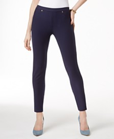 MICHAEL Michael Kors Petite Stretch Twill Leggings