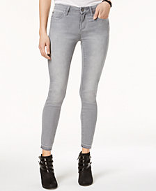 Articles of Society Carly Skinny Crop Released-Hem Jeans