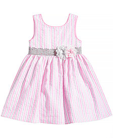 Marmellata Striped Seersucker Dress, Baby Girls