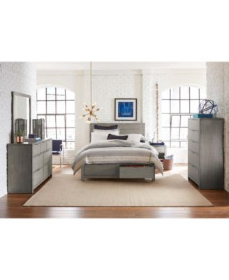 Tribeca Storage Bedroom Furniture, 3-Pc. Set (California King Bed, Chest & Nightstand), Created for Macy's