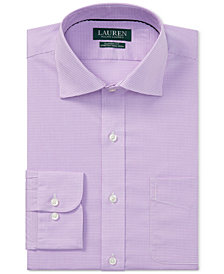 Ralph Lauren Men's Classic Fit Plaid Dress Shirt
