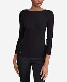 Lauren Ralph Lauren Petite Slim-Fit Sweater