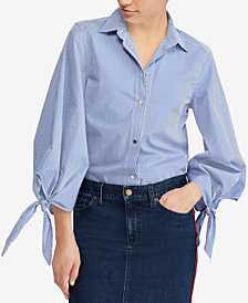 Lauren Ralph Lauren Petite Relaxed Fit Shirt