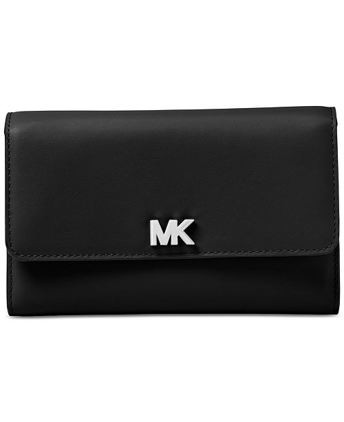 e544309bf37f Michael Kors Multi-Function Leather Wallet & Reviews - Handbags ...