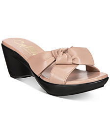Callisto Catriona Wedge Sandals, Created for Macy's