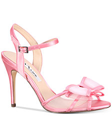 Nina Charm Bow Evening Dress Sandals