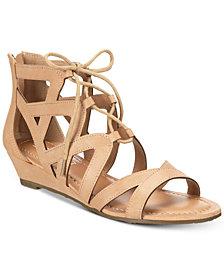 Esprit Chrissy Lace-Up Wedge Sandals